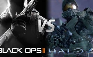 Black Ops 2 vs. Halo 4 sales, first week on 360