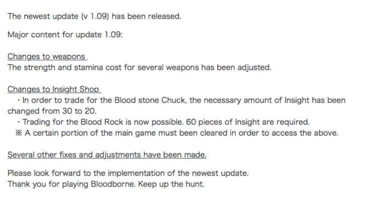 bloodborne-1.09-update-patch-notes