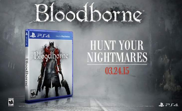 Bloodborne Ps4 Game Bloodborne-ps4