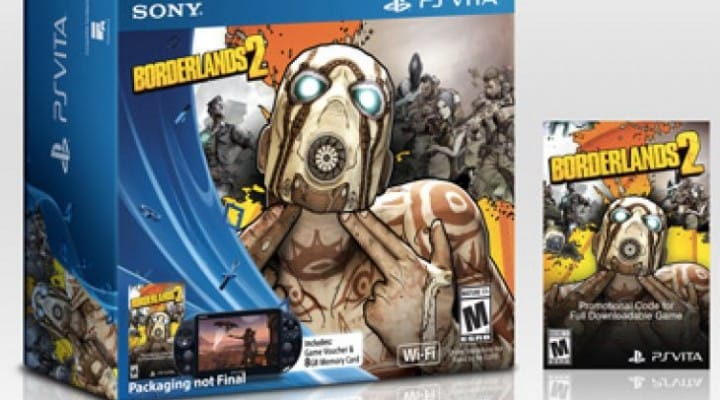 Borderlands 2 PS Vita price, DLC revealed