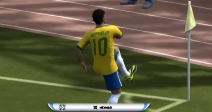 Brazil Vs Croatia Neymar first scorer in FIFA 14