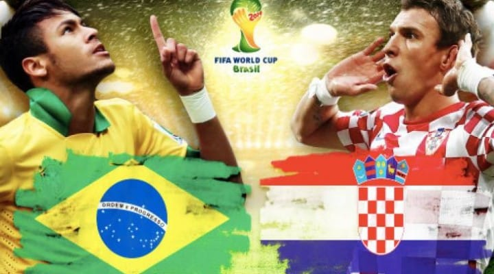 World Cup 2014 Group Tables after Brazil Vs Croatia