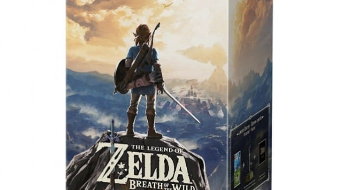 Zelda Breath of the Wild Master Edition stock for UK