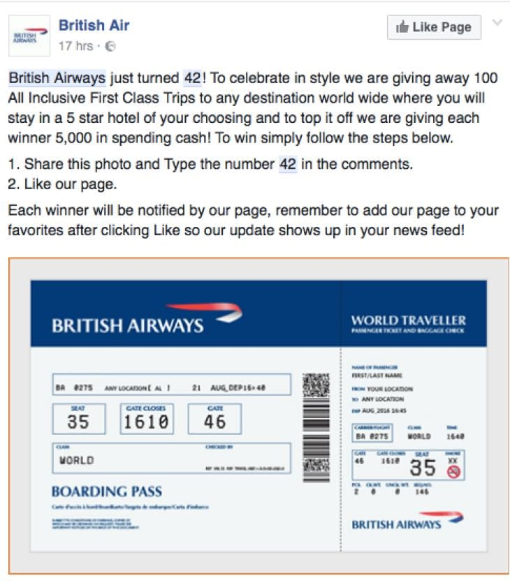 british-airways-42-facebook-scam