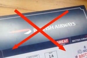 British Airways 42 Facebook scam for free tickets