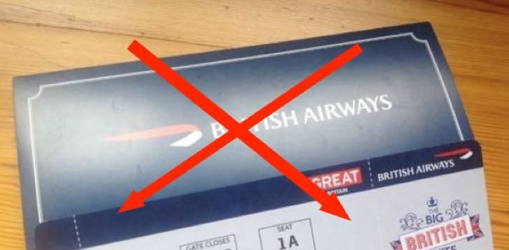 British Airways 42 Facebook scam for free tickets