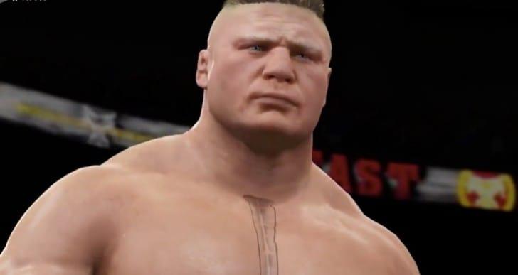 WWE 2K16 Brock Lesnar entrance with Paul Heyman