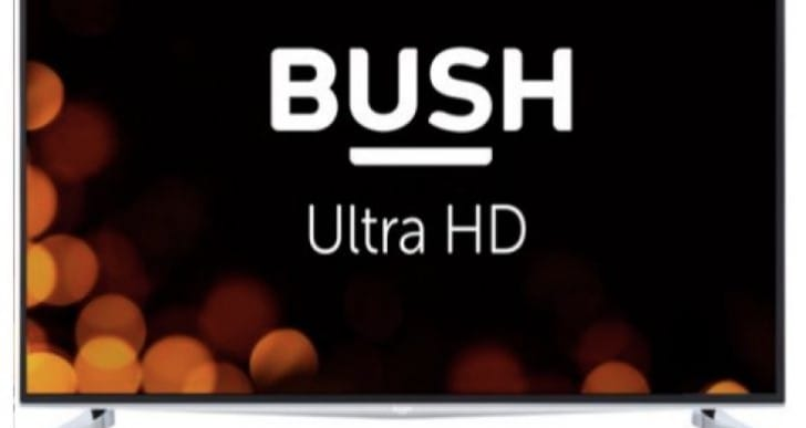 Bush 40-inch 4K UHD Freeview HD Smart TV 50Hz warning