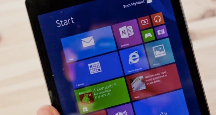 Bush Eluma B1 8-inch 32GB Windows MyTablet review