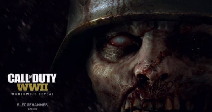 Call of Duty WW2 Zombie trailer leaked early