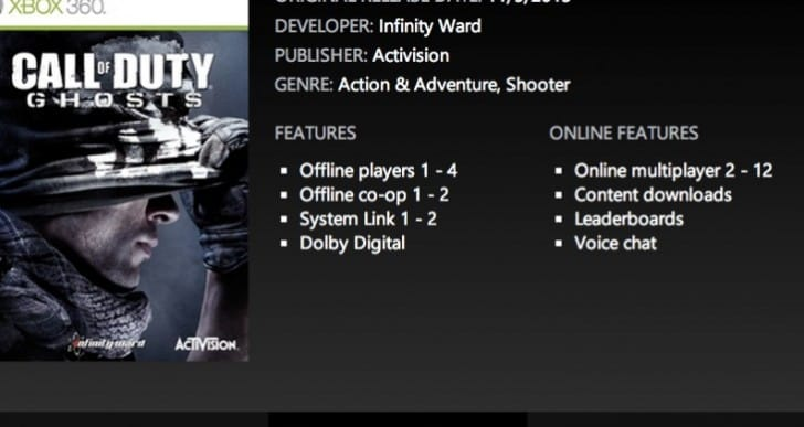Call of Duty Ghosts disbelief with 12 player multiplayer