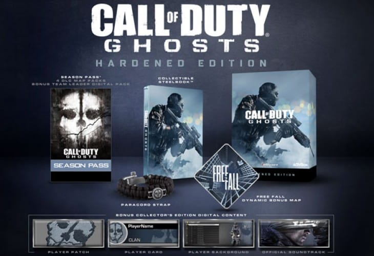 COD: Ghosts Hardened Edition PS4 in GAME price lottery