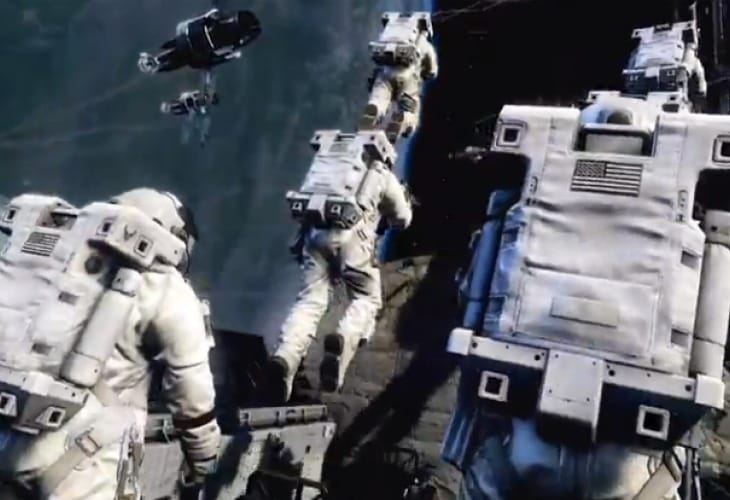 Call of Duty Ghosts graphics from space missions