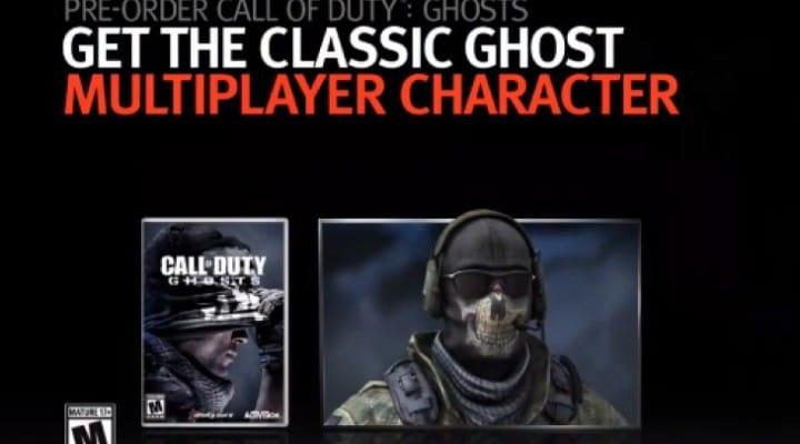 Call of Duty Ghosts multiplayer bonus to please veterans