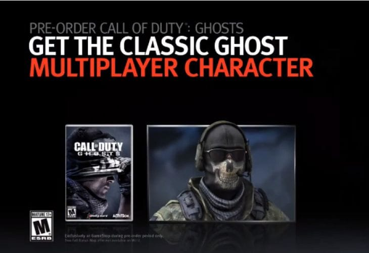 Call of Duty Ghosts multiplayer bonus to please veterans