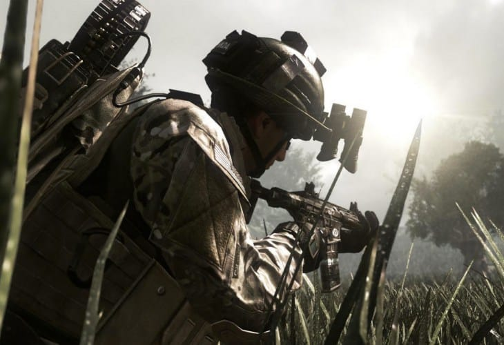 Call of Duty Ghosts multiplayer 1080p update on PS4