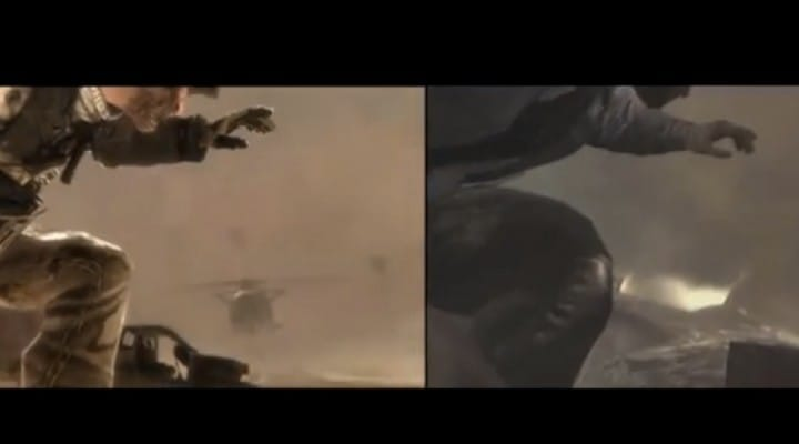 COD Ghosts, IW exposed after copied MW2 scene