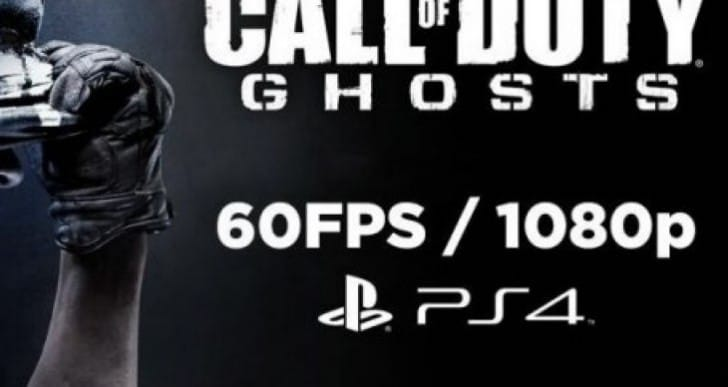 Call of Duty Ghosts PS4 1080p Ad needed to go global