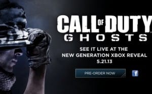 Call of Duty Ghosts debut favors Xbox 720