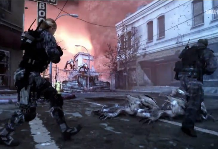 COD Ghosts zombies hopes with Extinction