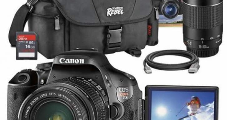 Canon Rebel T3i review with lenses and manual