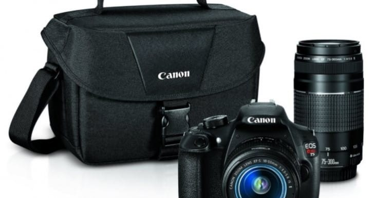 Canon EOS Rebel T5 Digital SLR Camera reviews for 2015