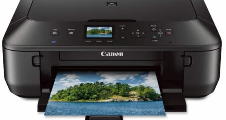 Canon PIXMA MG5520 Wireless All-In-One Printer review and manual