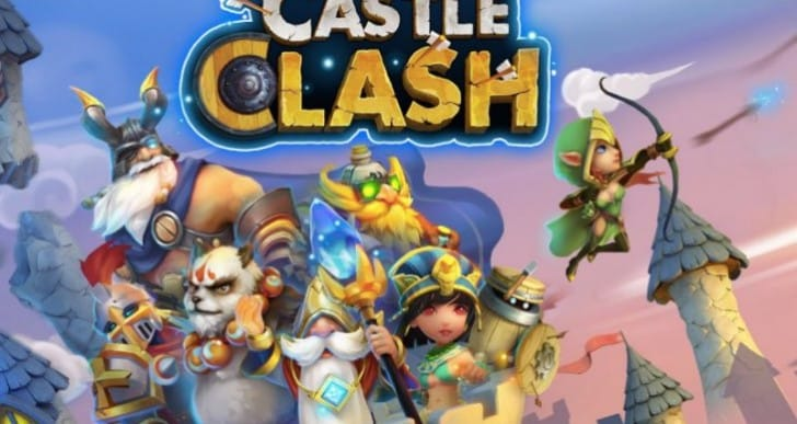 Castle Clash Android update 1.2.8 notes with Arctica