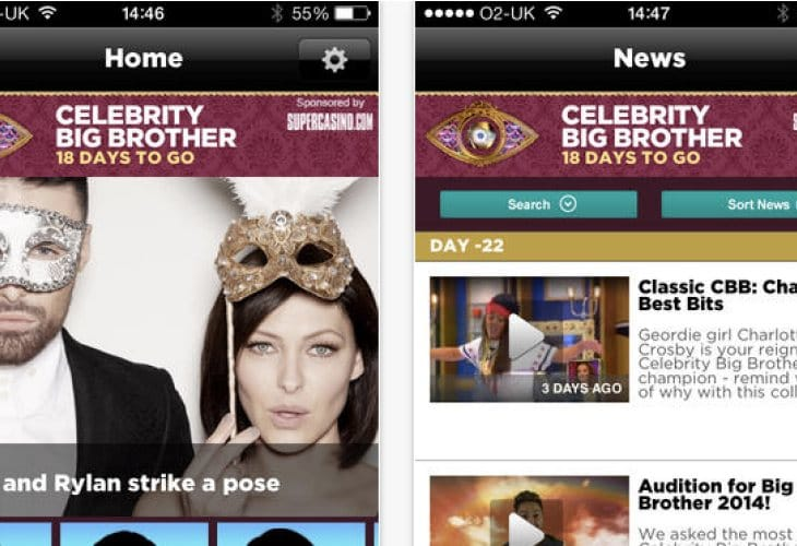 Big Brother 2014 news app for Dappy fans