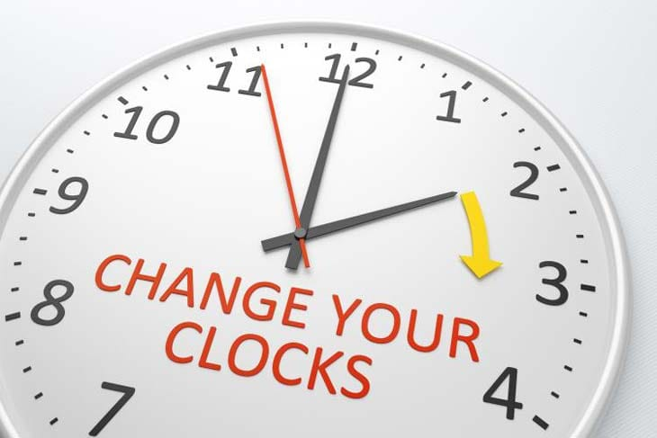 do iphones automatically change time for daylight savings clocks change this weekend one hour on sunday march 27 20655