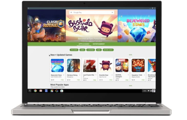 Android apps on chromebook list
