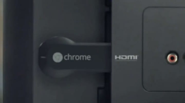 Chromecast aided by Vudu streaming