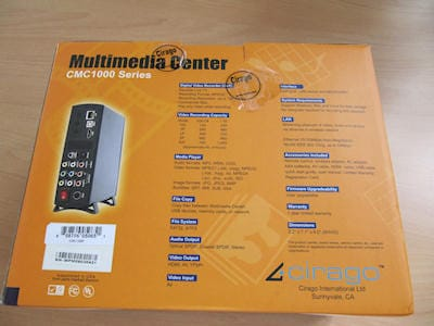 Cirago Multimedia Center CMC 1000 Series 1