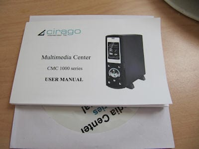 Cirago Multimedia Center CMC 1000 Series 8
