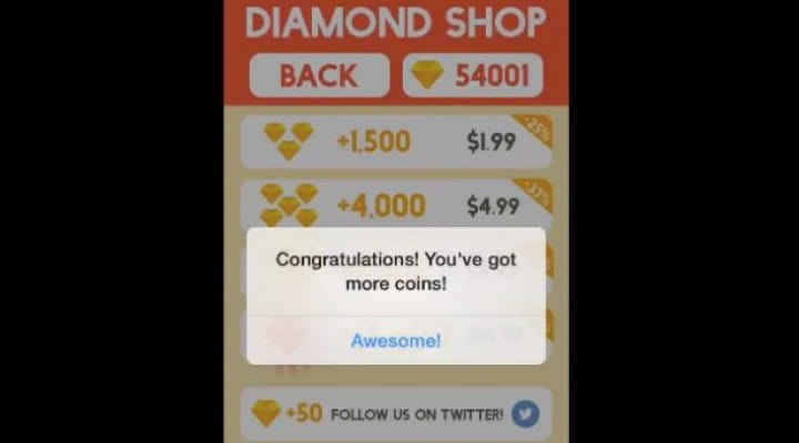 Circle Surfer hack for free diamonds already