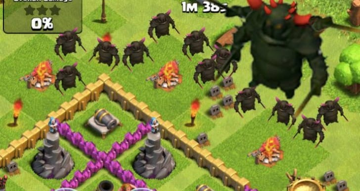 Clash of Clans 6.186.3 APK for Android without hack