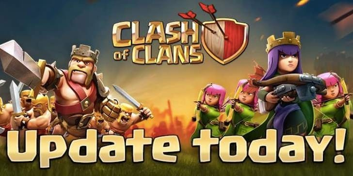 Clash of Clans down for Wizard update