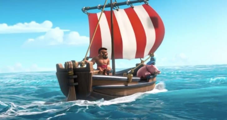 Clash of Clans Boat update: Download first at release time