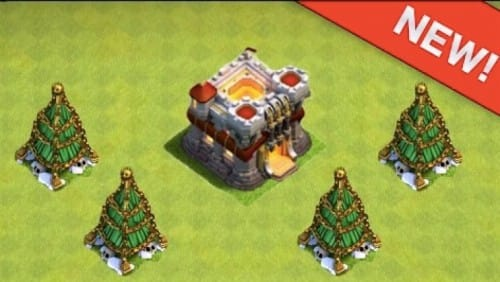Clash Of Clans Christmas Trees In Order.Clash Of Clans Christmas Tree Update 2015 Product Reviews Net