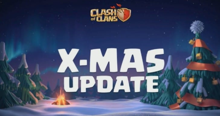 Clash of Clans Winter update gameplay stream replay