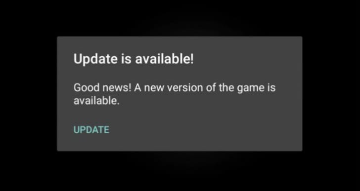 Clash of Clans update not on Play Store after available