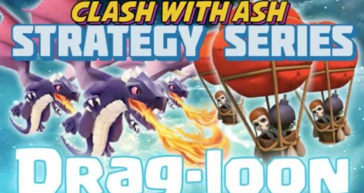 Best Clash of Clans Town Hall 8 Dragon attack strategy