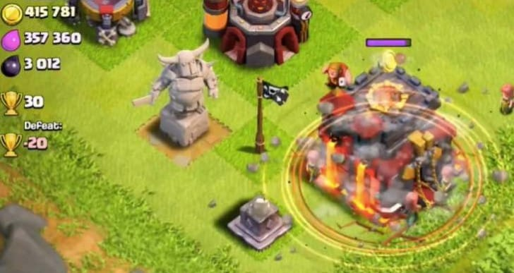 Clash of Clans update features list in video review