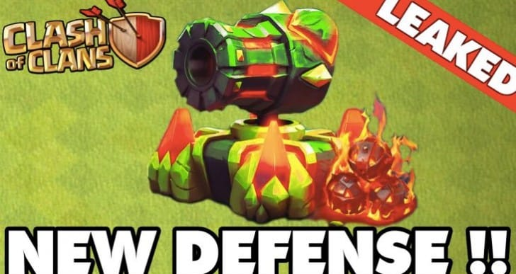 Clash of Clans February 2016 update for Mega Cannon defense