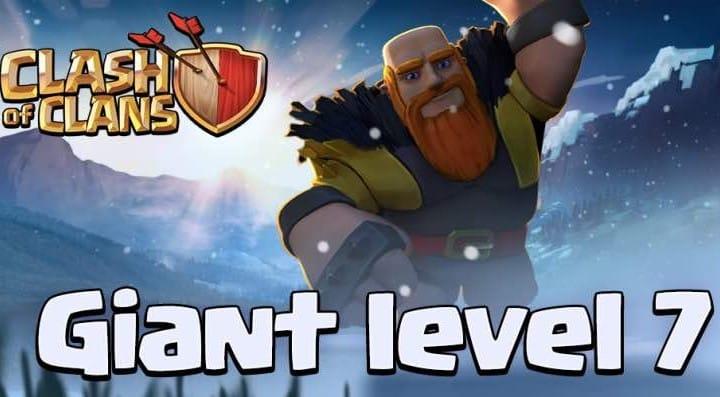 Clash of Clans Level 7 Giants cost, exclusive Sneak Peek