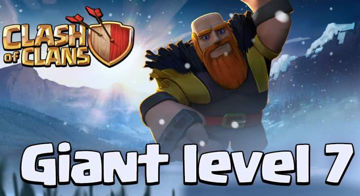 Mise à jour prochaine de Noël 2014 Clash-of-clans-giants-level-2014