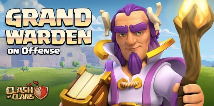 Clash of Clans Grand Warden Attack Vs Defense gameplay