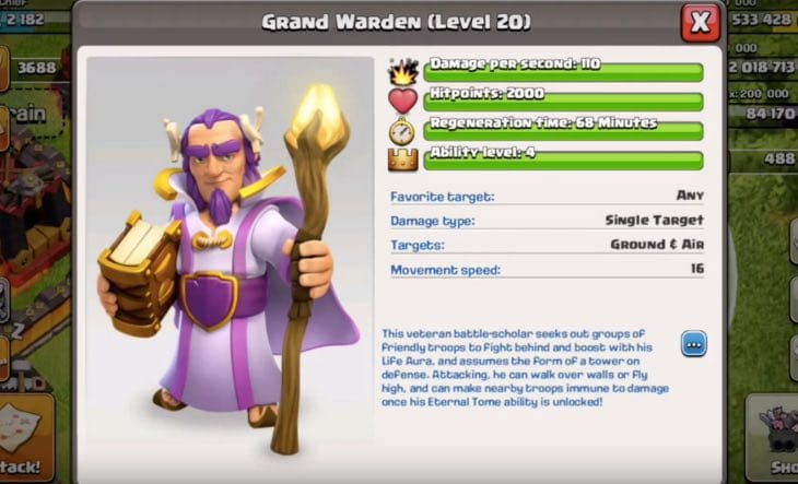 clash-of-clans-grand-warden-gameplay
