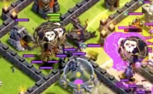 Best Clash of Clans healing spell strategy on attacks