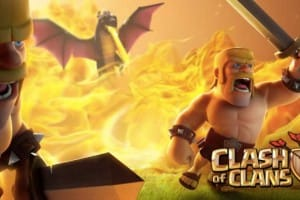Clash of Clans Barbarian and Dragons event live